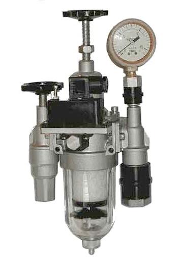 Пневмоблок подготовки (кондиционирования) сжатого воздуха П-Б16.31 (П-Б 16.31, ПБ 16-31, ПБ16.31), П-Б16.21 (П-Б 16.21, ПБ 16-21, ПБ16.21)