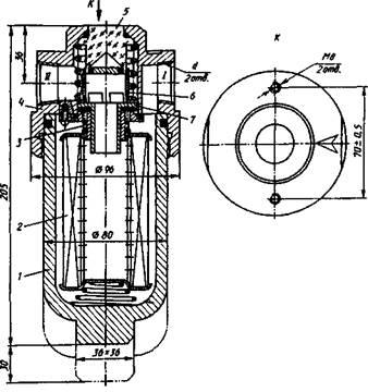 Габаритные и присоединительные размеры, принцип работы фильтров Ф10