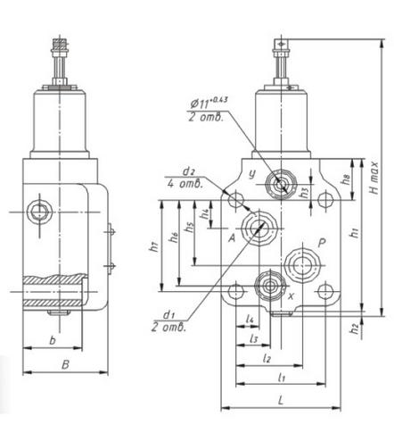 Клапан напорный вг 54 32 м прайс