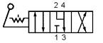 Пневмораспределители В71-24М-01, В71-24М-02, В72-24М-01, В72-24М-02