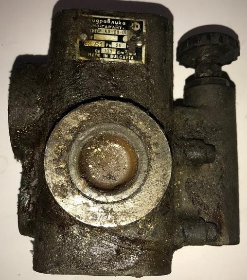 Клапан предохранительный М-КП 10-20-1-11